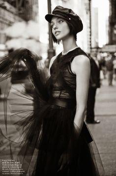 Sasha Pivovarova by Glen Luchford for Vogue Paris November 2014 9