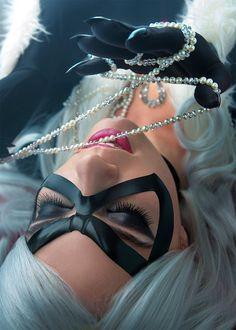 Black Cat - Pearls by RinaG on deviantART