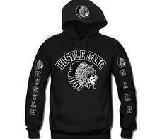 Hustle Gang 4 Prints Unisex Hooded Sweatshirt – DA LEO'S Custom Shirts