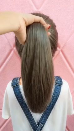 Access all the Hairstyles: - Hairstyles for wedding guests - Beautiful hairstyles for school - Easy Hair Style for Long Hair - Party Hairstyles - Hairstyles tutorials for girls - Hairstyles tutorials Easy Hairstyle Video, Long Hair Video, Easy Hairstyles For Long Hair, Little Girl Hairstyles, Hairstyles For School, Braided Hairstyles, Beautiful Hairstyles, Party Hairstyles, Hairstyles Videos