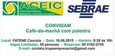 INSCREVA-SE  https://www.eventbrite.pt/e/bilhetes-cafe-da-manha-com-palestra-17347135750?ref=ecount