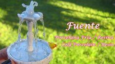 Fuente en Porcelana Fria - Resina / Cold Porcelain - Resin