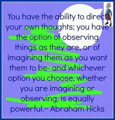 Abraham Hicks www.lovehealsus.net
