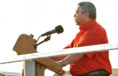 Ulises Guilarte de Nacimiento, secretario general de la central obrera, expresó que los cubanos mantendrán su apoyo a los ideales revolucionarios. (Foto: GILBERTO RABASSA).