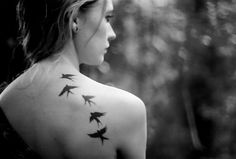 Bird Tattoo.. i have one on my shoulder already, when i get enough money id like…