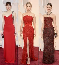 Dakota Johnson, Rosamund Pike, Behati Prinsloo Oscars