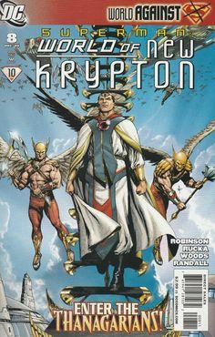 Superman: World of New Krypton # 8 DC Comics