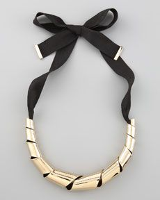 big twist necklace :: marc by marc jacobs