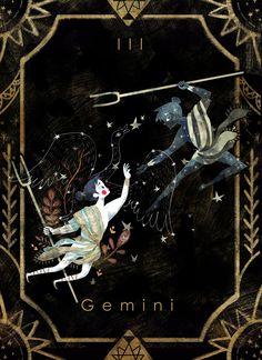 Illustration of the 12 Zodiac sign base on their origin story. Gemini Art, Zodiac Signs Gemini, Zodiac Art, Astrology Zodiac, Astrology Signs, Star Illustration, Illustrations, Digital Illustration, Tarot