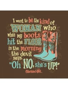 Cherished Girl Oh No Boots Country Southern Girlie Christian Bright T | SimplyCuteTees
