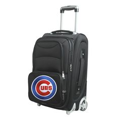 247671a12a23 Denco Chicago Cubs 21-inch Carry-on 8-wheel Spinner Suitcase Spinner  Suitcase