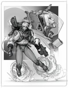Character design by Anton Lavrushkin.More Characters here.