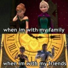 Frozen funny