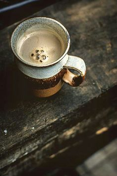 Coffee photography. I love everything about this picture. I need that coffee mug!