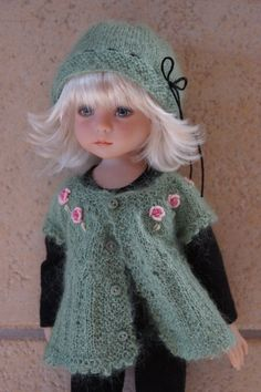 "Effner 13"" Little Darling Simply Roses Ensemble by Ladybugs Doll Designs OOAK | eBay"
