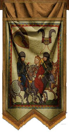 The Medieval Smithy Wawa's Whacky 4 Wallhangings! Medieval, Painting, Decor, Art, Art Background, Decoration, Painting Art, Kunst, Mid Century