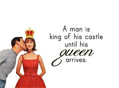 "Quirky Quotes by Vintage Jennie  | ""King of His Castle"""