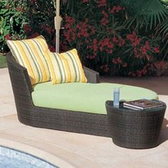 Outdoor Chaise - Simple and sleek