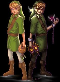 Link and Ben Drowned