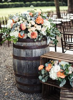 Dreamy Inspiration for A Vineyard Wedding - Inspired By This