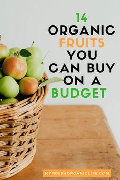 budget organic food