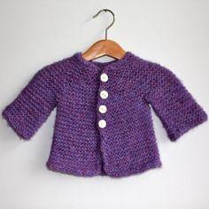 free knitting pattern 3mths - 3Y
