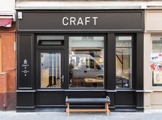 Café Craft, located at 24, Rue des Vinaigriers in the city's trendy Canal St-Martin enclave.
