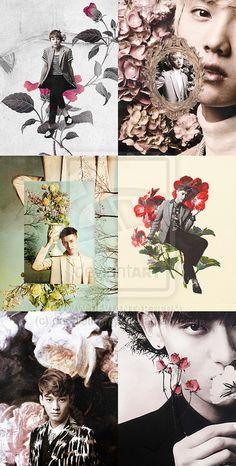 EXO-M - Lay, Kris, Luhan, Tao, Xiumin, Chen @devientart