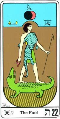 22. El Retorno (El Loco) en el Tarot Egipcio Kier