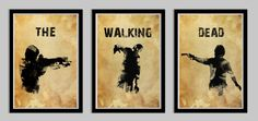 The Walking Dead Poster Set Featuring Daryl and von LynxCollection, $39.95