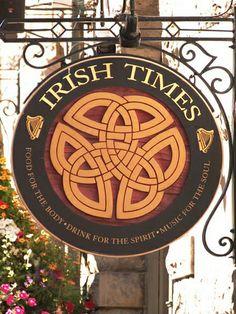 Irish Times Pub!