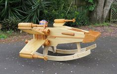 "Nothing Says ""Rock-A-Bye Baby"" Like An X-Wing Rocker"