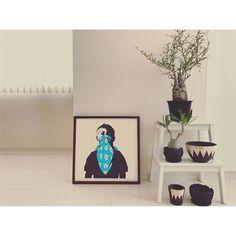 WEBSTA @ nory_plus - ✔︎love art★#interiordesign #interior #livingroom #green #caudex #cuctus #invisibleink #operculicaryapachypus #pachypus #pacypodium #artwork #art #collection #dolk #グラキリス #パキポディウム #パキプス