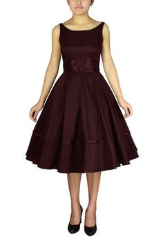 1950s Satin Sash Dress  by Amber Middaugh $49.95 or $31.47! with coupon code: AMBER37