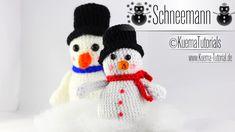 Passend zum Winter darf ein Schneemann nicht fehlen ,mit meiner neuen Anleitung könnt ihr euch schnell und einfach selber einen Häkeln. Eine kleine Überrasch...