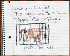 Your zoo is a jail.