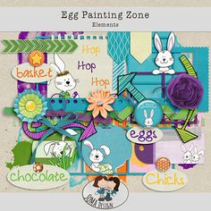 Oscraps.com :: Shop by Category :: All New :: SoMa Design Egg Painting Zone Kit Basket, Eggs, Kids Rugs, Scrapbook, Kit, Painting, Design, Shop, Kid Friendly Rugs