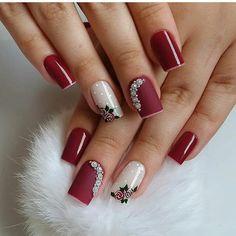 Pink Nail Art, Cute Acrylic Nails, Blue Nails, Xmas Nails, Diy Nails, Colorful Nail Designs, Nail Art Designs, Animal Nail Art, Luxury Nails