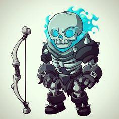 Skeleton archer #gamedev #freelance