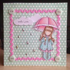 Little Lucy's Handmade Cards: Sending Puddles of Love... (Gorjuss Stamp)