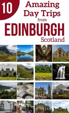 Plan your Scotland Travels – discover the best day trips from Eindburgh Scotland – Nature, History, Culture…The Highlands, Glencoe, the Borders, Stirling Castle, Whisky, St Andrews…   Scotland Travel Guide   Scotland Itinerary