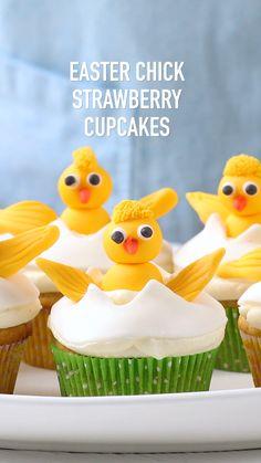 Easter Snacks, Easter Brunch, Easter Treats, Easter Recipes, Easter Desserts, Fun Baking Recipes, Cupcake Recipes, Cupcake Cakes, Dessert Recipes