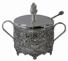 silver serving dishes   Ornate Silver Plated Serving Dish