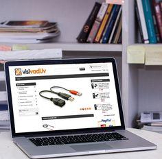 Портфолио: Интернет-магазин гаджетов и аксессуаров «Visivadi»  Что было сделано: Создано интернет-магазин гаджетов и аксессуаров «Visivadi»  Адрес сайта: http://visivadi.lv