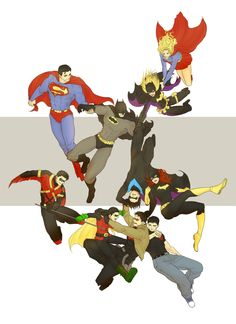 Bats and Supers