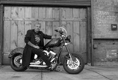 Billy&his bike/Gotta' love a man with a bike