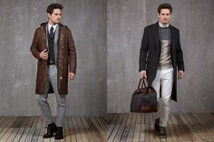 Brunello Cucinelli Autumn/Winter 2015 Men's Lookbook | FashionBeans.com