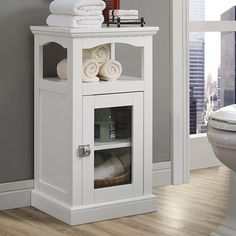 Expand the storage potential in even the smallest of spaces with the Linon Home Scarsdale Demi Cabinet . This cabinet is constructed of sturdy wood and. Decor, Furniture, Wood Cabinets, Traditional Bathroom Cabinets, Bathroom Shelf Cabinet, Bathroom Floor Cabinets, Bed Bath And Beyond, Home Decor, Storage Cabinet