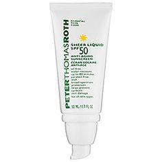 Peter Thomas Roth SPF 50 Anti-Aging Sunscreen