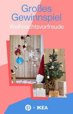 Verleihe deiner Weihnachtsvorfreude mit IKEA, paulsvera und Pinterest Ausdruck und gewinne IKEA Geschenkkarten im Gesamtwert von 5.000 Euro